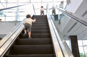 kid escalator