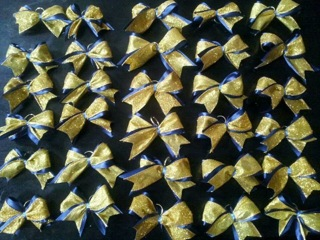 DIY1 Cheer Bow Keychain